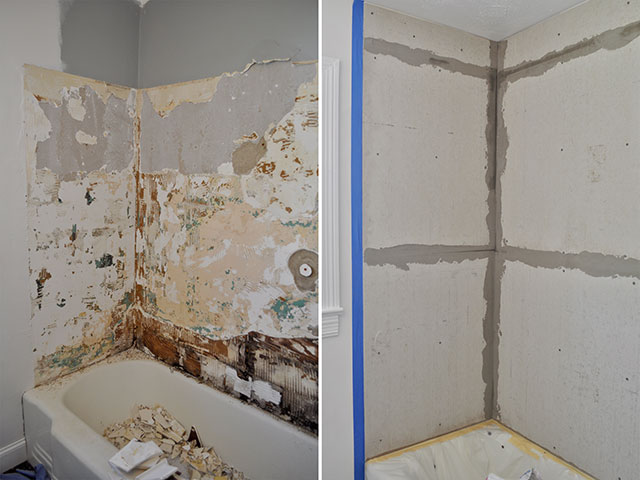 Bathroom Renovation.