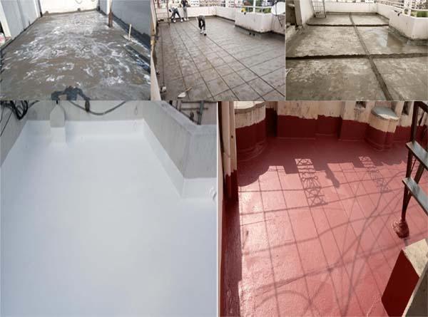 Terrace renovation repair work Waterproofing Service