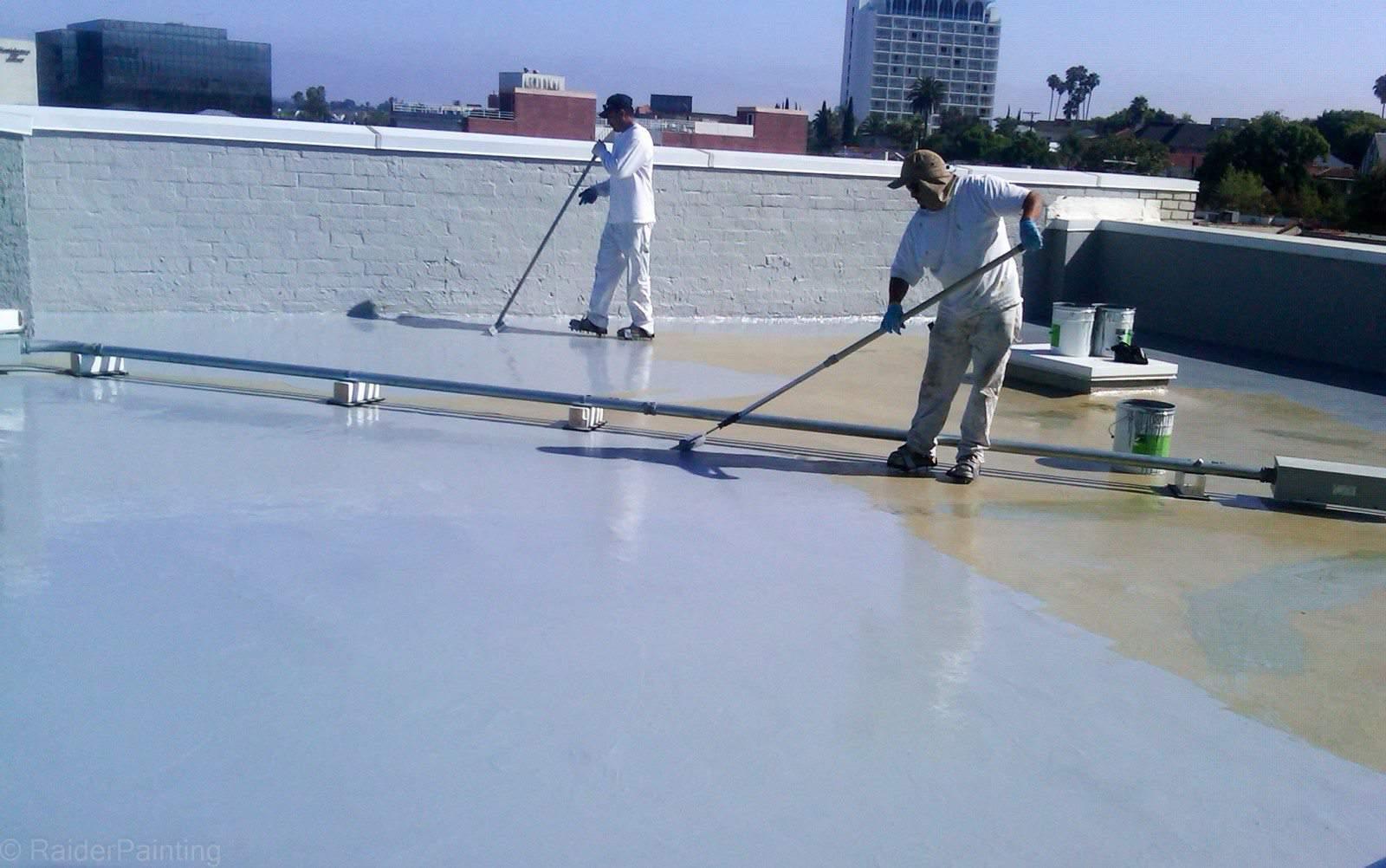 Waterproofing building construction