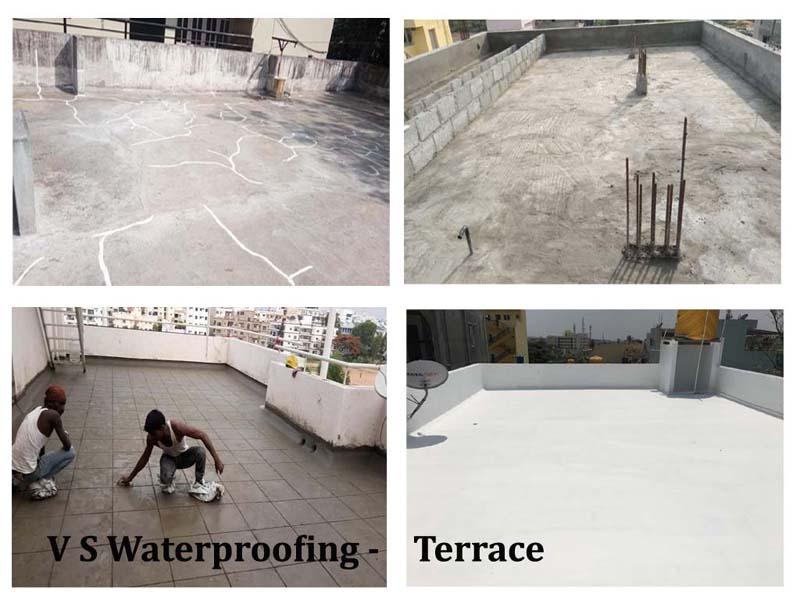 Terrace leakage waterproofing services